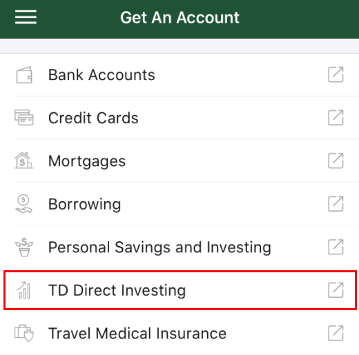 What's new in the TD app for TD Direct Investing?